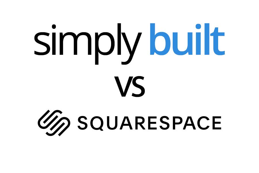 Simply Built vs Squarespace